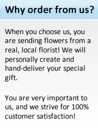 Order from a real local New York florist.