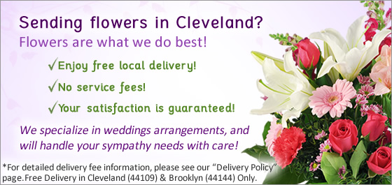 Cleveland's Flower Delivery in an image
