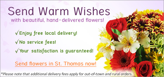 St Thomas Flower Delivery Image