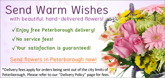 Send flowers Peterborough Florist