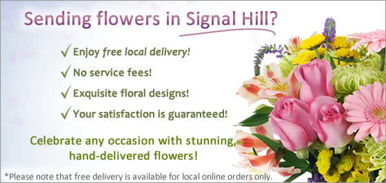Signal Hill Florist Send Image