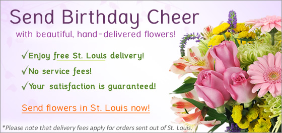 Send flowers St Louis Florist