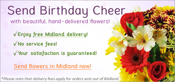 Send Flowers Midland Florist