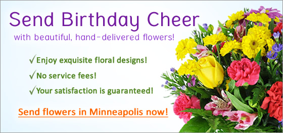 Minneapolis Birthday Flowers Florist Delivery