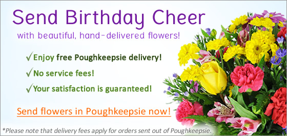 Poughkeepsie Birthday Flowers Florist Delivery