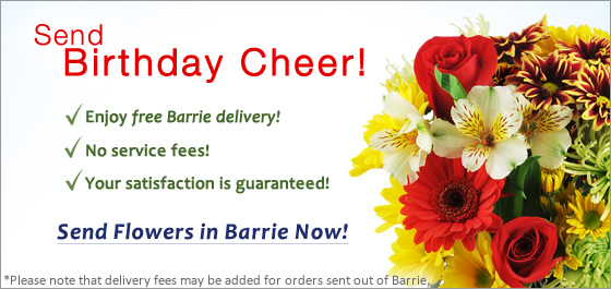 Send Flowers Barrie ON Florist