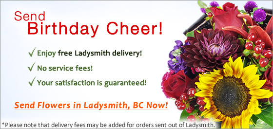 Send Flowers Ladysmith Florist