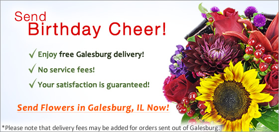 Send Flowers Galesburg Florist