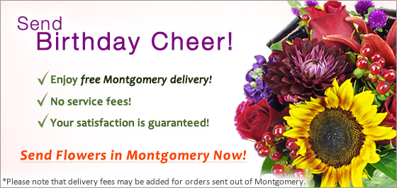Send Flowers Montgomery Florist