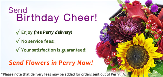 Send Flowers Perry IA Florist
