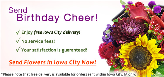 Send Flowers Iowa City Florist
