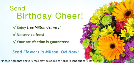 Milton ON Flower Delivery Florist