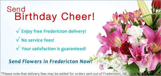 Send Flowers Fredericton NB Florist
