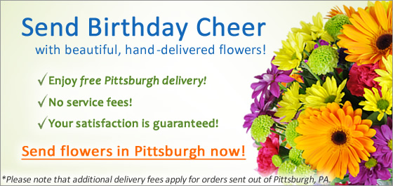 Send Flowers in Pittsburgh