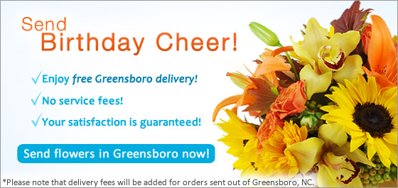 Send Flowers Greensboro Florist