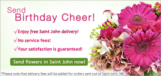 Send Flowers Saint John NB Florist
