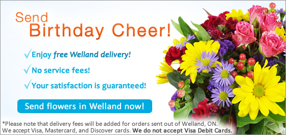 Send Flowers Welland ON Florist