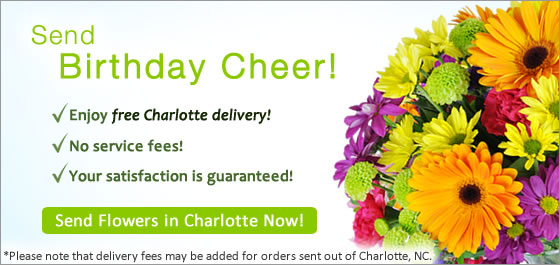 Send Flowers Charlotte NC Florist