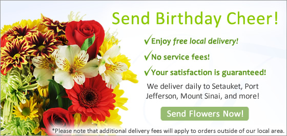 Long Island Florists & Flowers Flower Delivery in Setauket NY Image