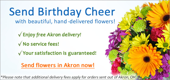 Send Flowers in Akron