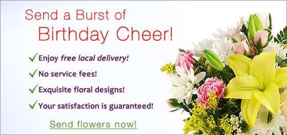 Send Birthday Flowers Image
