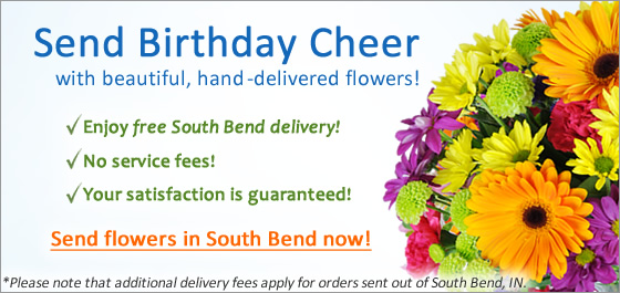 Send Flowers in South Bend