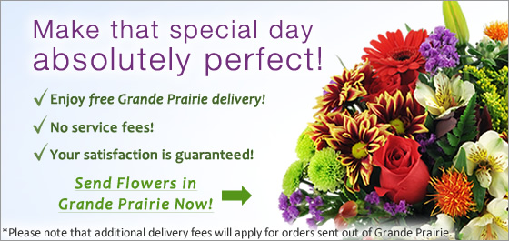 Send Birthday Flowers in Grande Prairie AB