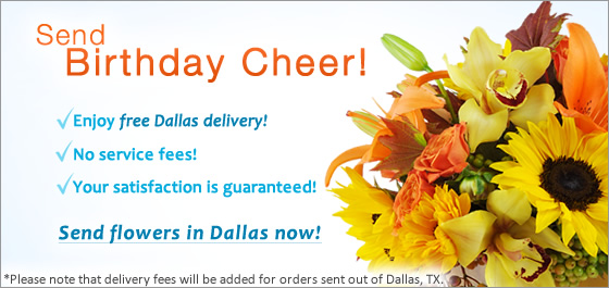 Send Flowers in Dallas TX