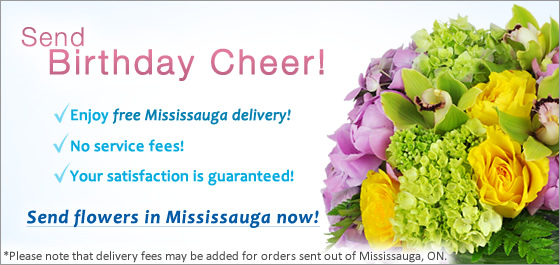 Send Flowers Mississauga ON Florist