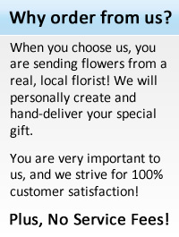 Order from a real local Charlotte florist.
