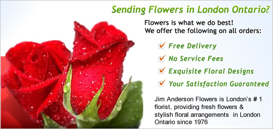 London Ontario Florist Image