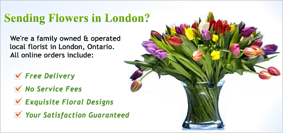 London Florist & Flowers Image