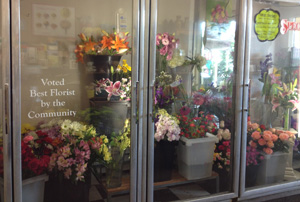 "Voted ""Best Florist"" by the community!"